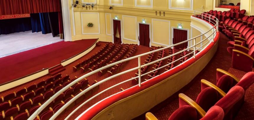 Domenica tutti al teatro del Casinò di Sanremo