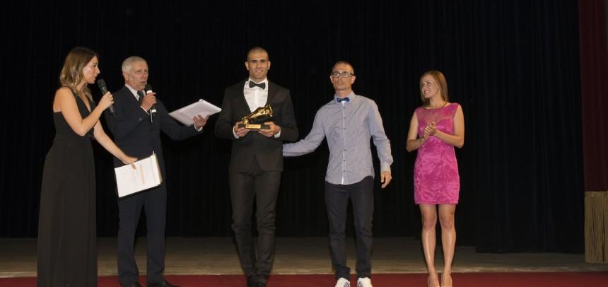 Giacomo Gandolfo è la scarpa d'oro 2015-16