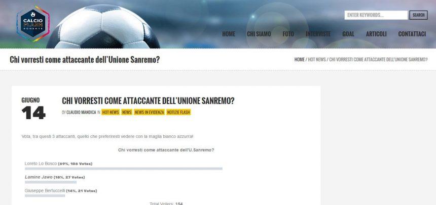 Loreto Lo Bosco è il vincitore del sondaggio lanciato da www.calcioflashponente.it
