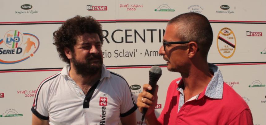 Intervista a Luca Simoncelli Addetto Stampa Argentina Arma