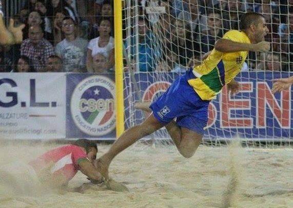 """BEACH SOCCER. Giacomo Gandolfo Diaz:""""Amo questo sport"""""""