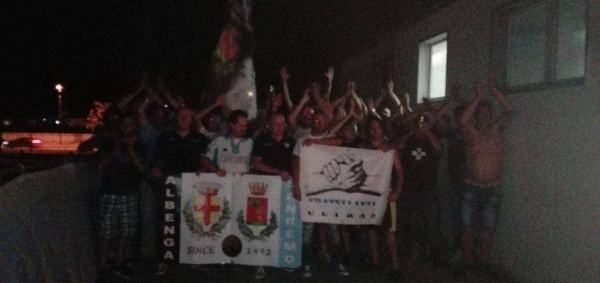 Le tifoserie della Sanremese e dell'Albenga festeggiano i 24 anni di gemellaggio