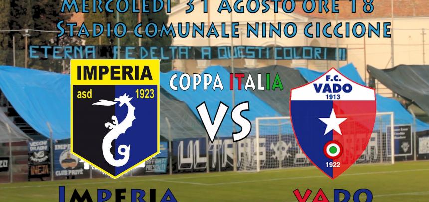 [Coppa Italia] Imperia – Vado Ore 18 Imperia Stadio Nino Ciccione