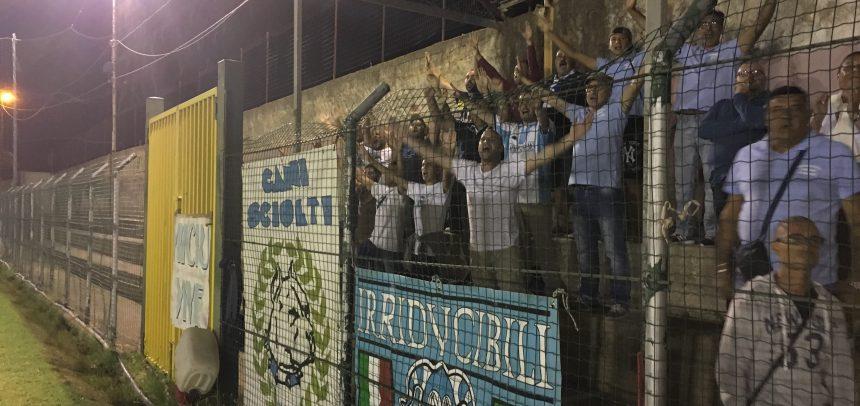"""[FOTOTIFO] Gli Ultras della Sanremese al triangolare """"Città di Taggia"""""""