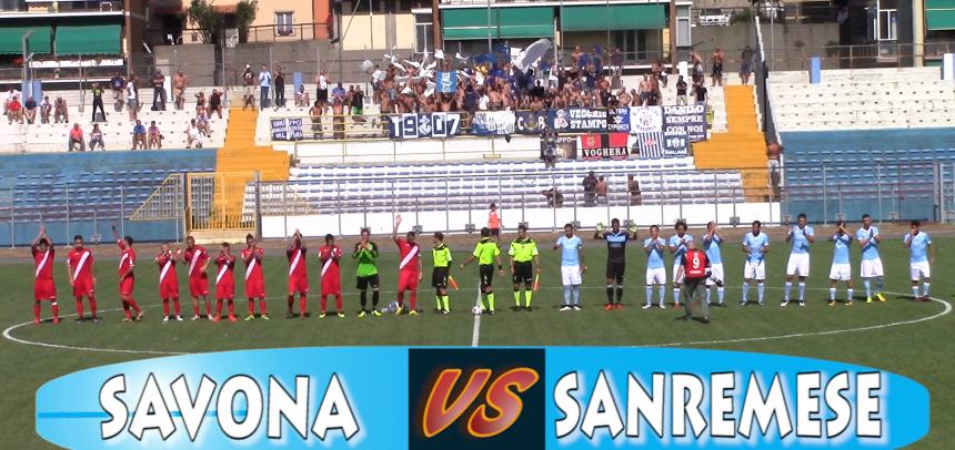 [VIDEO] Savona 2 Sanremese 5 Coppa Italia