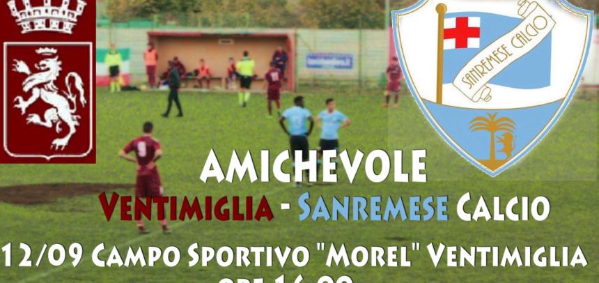 [Amichevole] Ventimiglia – Sanremese Calcio