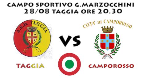 [Coppa Italia] Taggia – Camporosso ORE 19