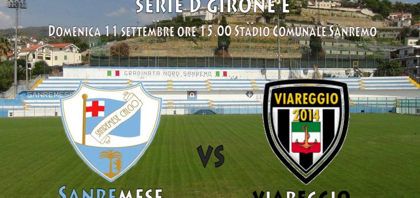 [Serie D] Sanremese – Viareggio ore 15.00 Stadio Comunale Sanremo