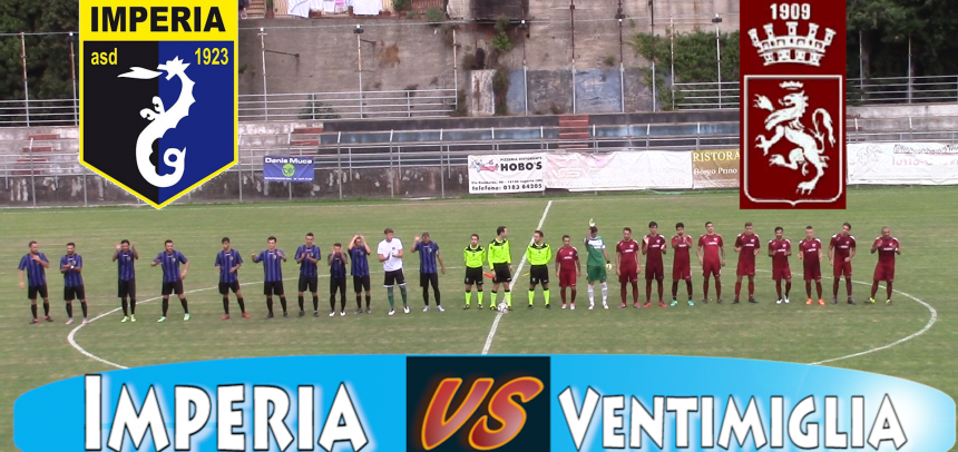 [Coppa Italia] Imperia – Ventimiglia Sintesi Video