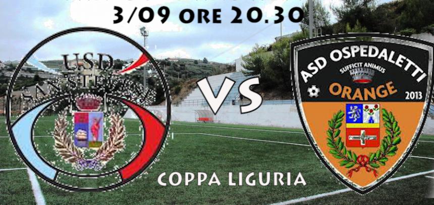 [Coppa Liguria] Sanstevese – Ospedaletti – 03/09 ore 20.30