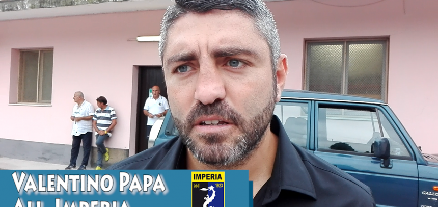 [Coppa Italia] Intervista a Valentino Papa All. Imperia