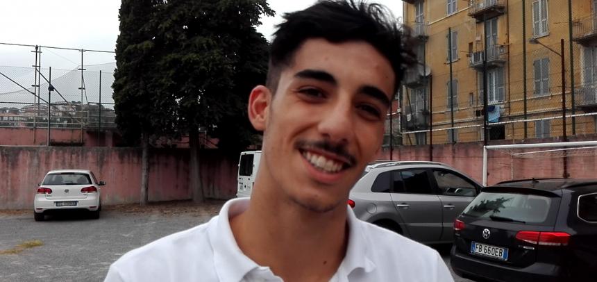 """Ventimiglia, Enrico Dominici: """"Sono felice del goal per i 3 punti fondamentali"""""""