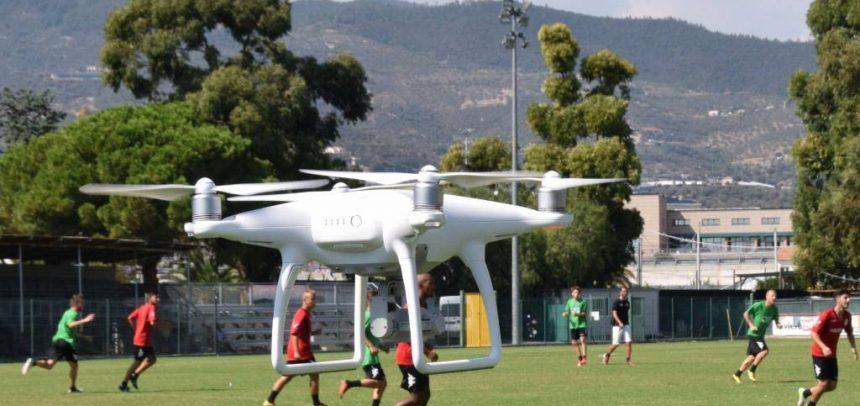ARGENTINA. Un drone per gli allenamenti di mister Nicola Ascoli