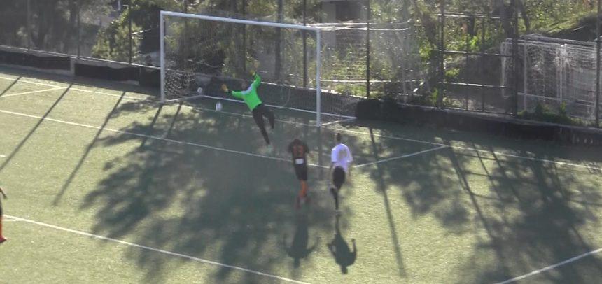 [VIDEO] OSPEDALETTI. Due parate da vero N°1 di Mattia Farsoni contro la Baia Alassio