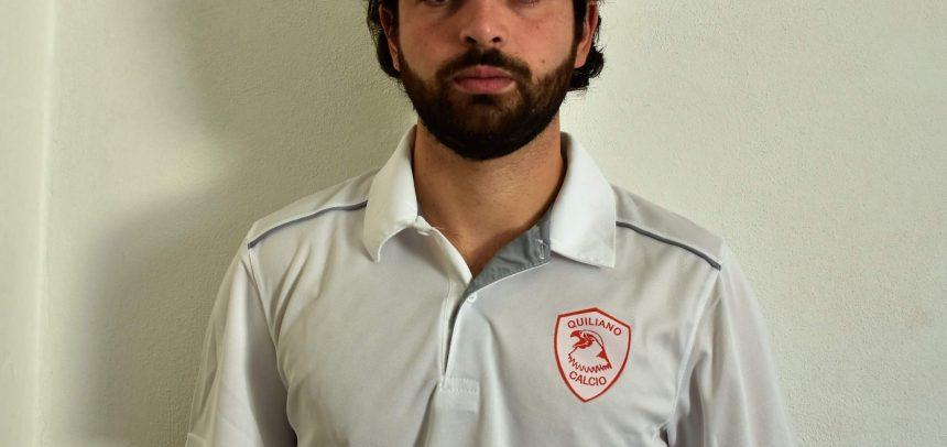 """CALCIOMERCATO. Quiliano, ha firmato Francesco Merlo Manco:""""Ringrazio il mio amico Matteo Fiani"""""""