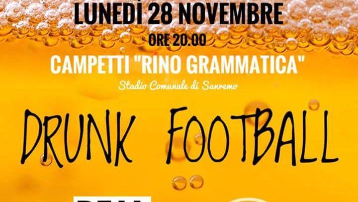 Il Drunk Football sbarca a Sanremo!