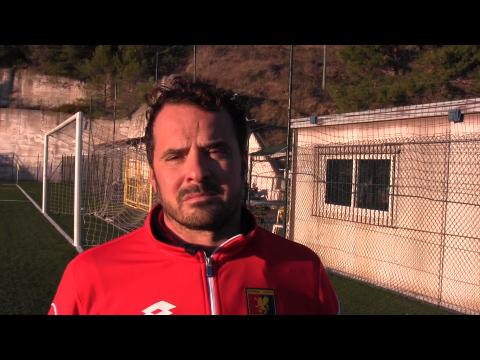 """DIANESE&GOLFO. Intervista a mister Enrico Sardo dopo la vittoria con la Sanstevese:""""Partita combattuta, risultato fondamentale"""""""