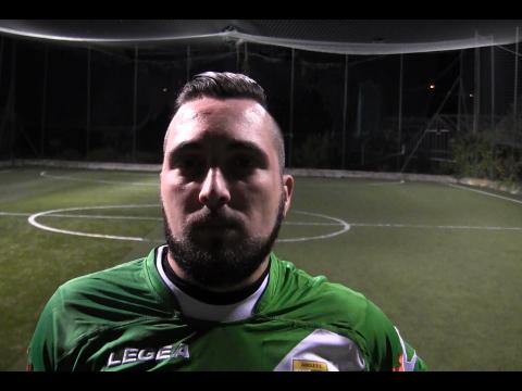 A.S.D AIROLE FC. Intervista a Davide Trama nel post partita con l'Atletico San Lorenzo