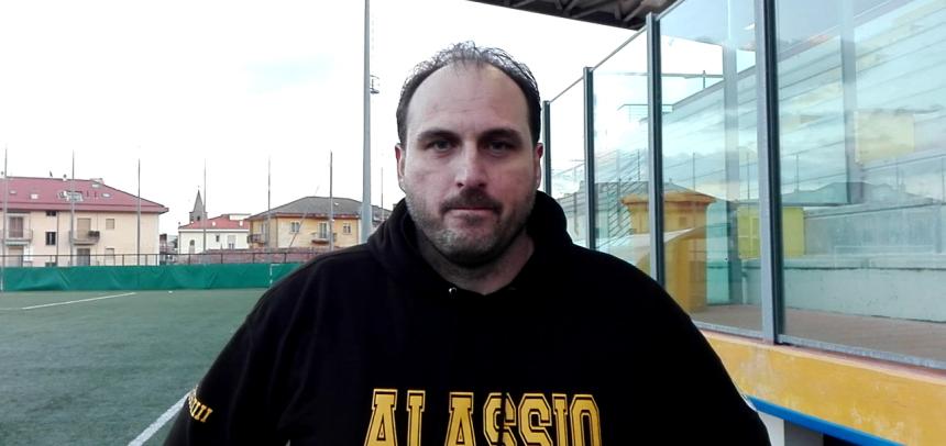 """Alassio FC, mister Amedeo Di Latte nel post partita col Borzoli:""""Oggi abbiamo utilizzato un modulo mai usato in passato"""""""