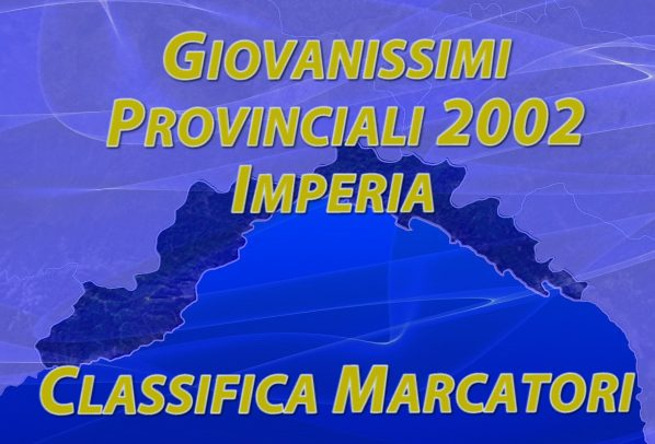 Giovanissimi Provinciali 2002 girone 1 – classifica marcatori