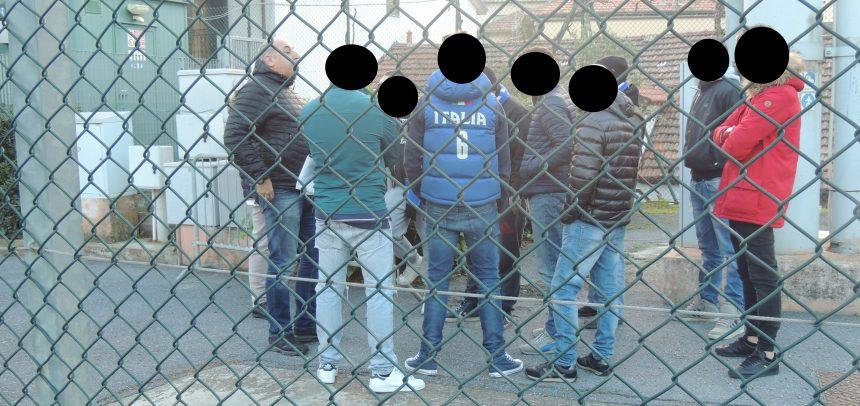 [FOTOTIFO] Imperia-Genova Calcio, il confronto tra ultras e società nerazzurra