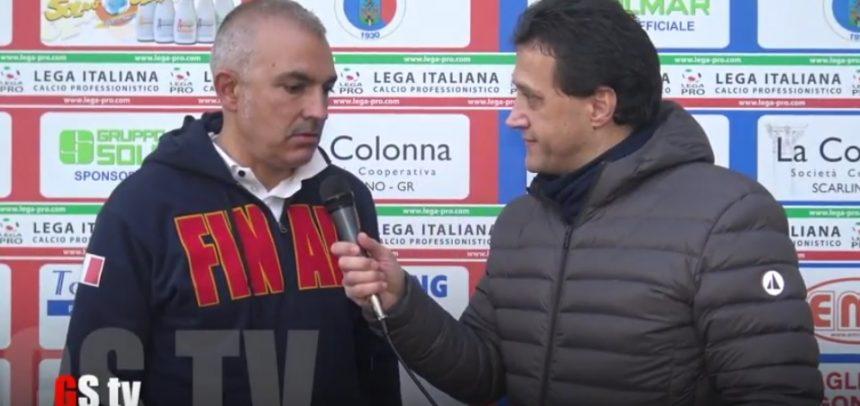 Finale, intervista a Pietro Buttu al termine della partita tra Gavorrano 4 Finale 3