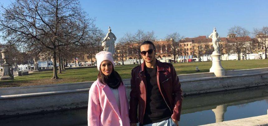 """Gli auguri di buon anno da parte del """"Cobra"""" Alessandro Greco e """"LadyCobra"""" Marianna Pagliarin"""