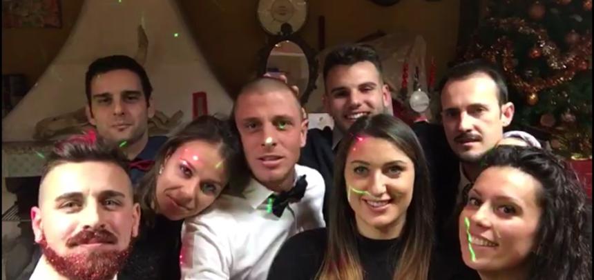 [VIDEO] Gli auguri di bomber Giuseppe Bertuccelli e dei suoi amici!