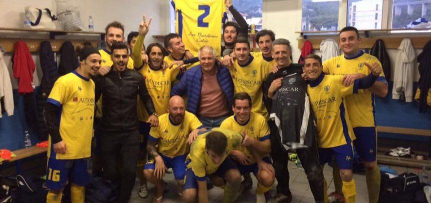 Il San Bartolomeo Calcio costretto a giocare ad Andora