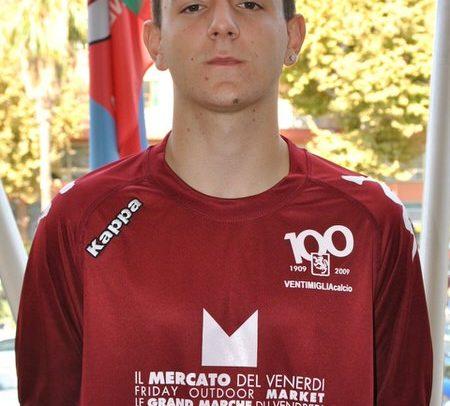 Ventimiglia Calcio, il difensore Loris Peirano in prova al Sassuolo