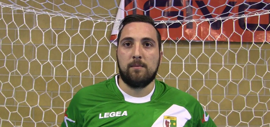 "Intervista a bomber Trama, Man of the Match di Airole-Imperia 5-2:""Puntiamo ai play-off"""