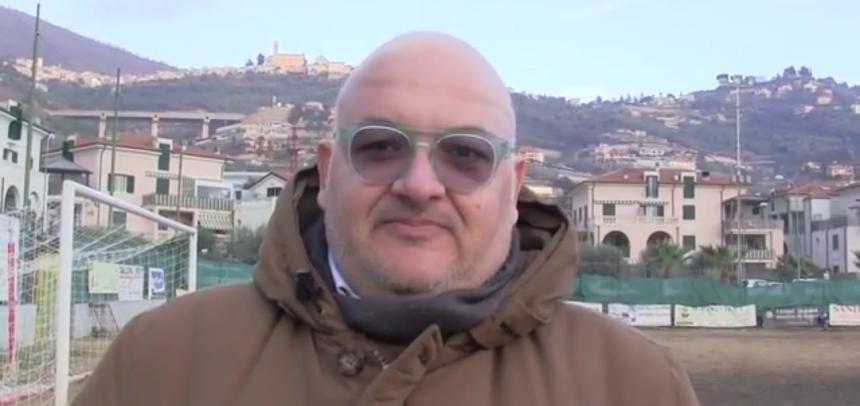"""TAGGIA. Il dg Massimo Giuffra è raggiante dopo la vittoria sulla Cairese:""""Siamo contentissimi"""""""