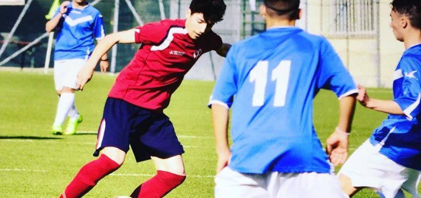 """Ventimiglia, il baby bomber Danilo Rea segna una doppietta contro il Moconesi:""""Felice per i tre punti e per i gol"""""""