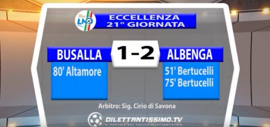 [Eccellenza Liguria] Busalla 1 Albenga 2 sintesi video by Dilettantissimo.tv