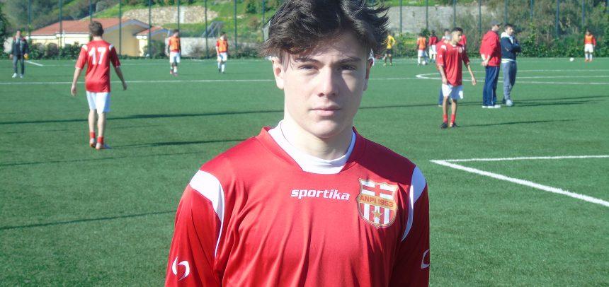 Allievi, ANPI Sport Casassa, il gol di Federico Vannucci che ha steso l'Argentina