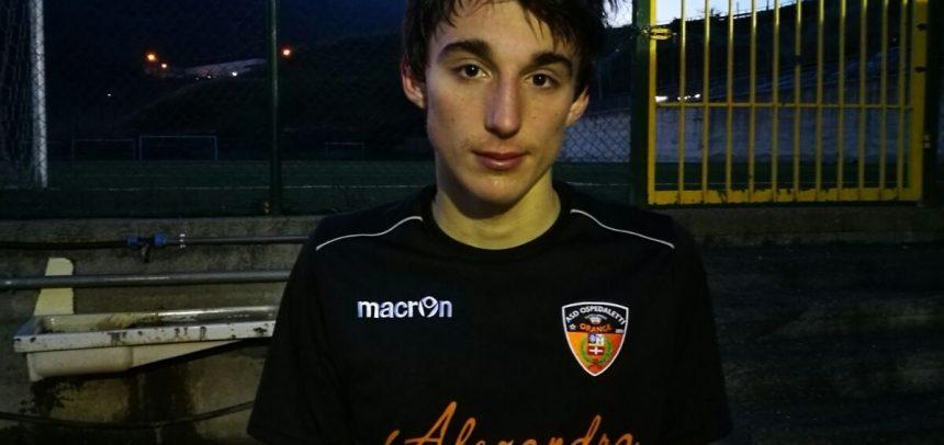 """JUNIORES ECCELLENZA. E'  Jacopo Balestra il Man of the match di Imperia-Ospedaletti 3-1:""""Sono felice"""""""