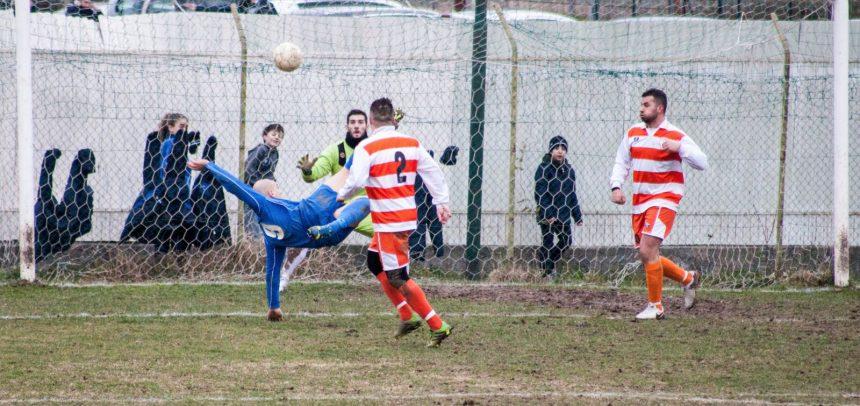 """Andora, Simone Serrami è scatenato, tripletta da urlo con un gol in rovesciata:""""La squadra è stata perfetta"""""""