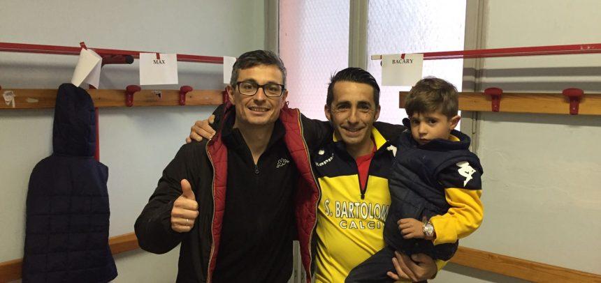 """San Bartolomeo, Damiano Berteina dopo la vittoria contro il Valleggia: """"Dedico questa vittoria alla società che mi ha accolto nel migliore dei modi"""""""