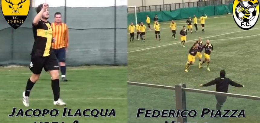 Ilacqua vs Piazza, vota il goal più bello della settimana