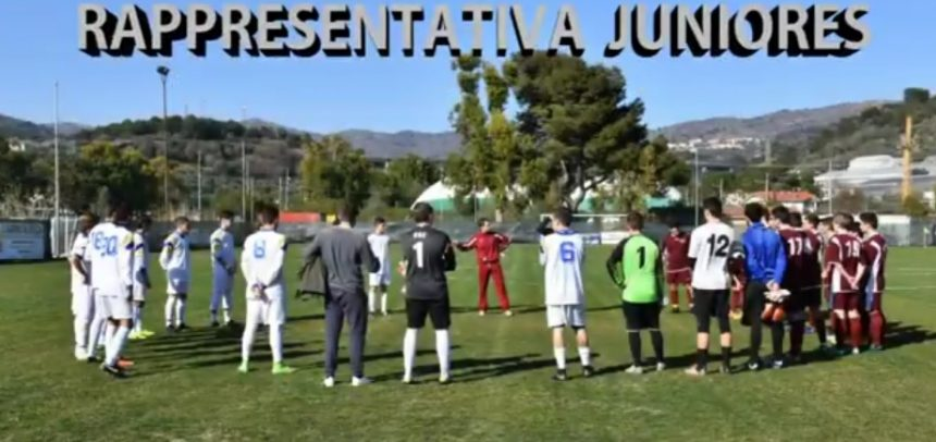 Rappresentativa Juniores la sintesi video della partita Bianchi vs Rossi by Massimo Vaccarezza