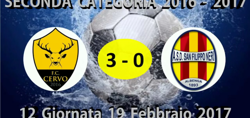 Gli Highlights di Cervo-San Filippo Neri 3-0 by Massimo Vaccarezza