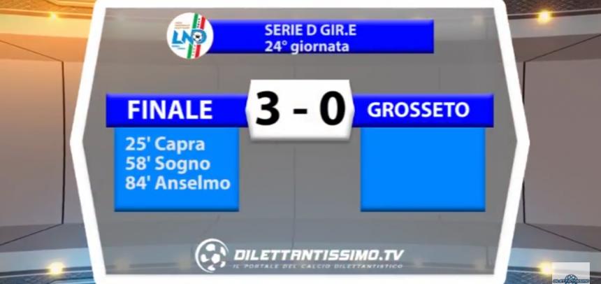 Gli Highlights di Finale-Grosseto 3-0 by Dilettantissimo
