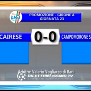 Gli Highlights di Cairese-Campomorone S.Olcese 0-0 by Dilettantissimo