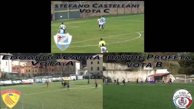 Davide Profeta vs Edoardo Capra vs Stefano Castellani, vota il goal più bello della settimana!