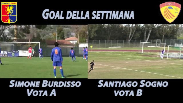 Simone Burdisso vs Santiago Sogno, vota il goal più bello della settimana!