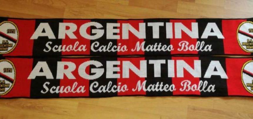 Argentina, a tutti i tifosi che acquisteranno un biglietto per la gara casalinga col Ponsacco, in regalo una sciarpa ufficiale del club