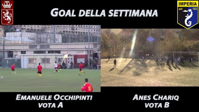 Emanuele Occhipinti vs Anes Chariq, vota il goal più bello della settimana!