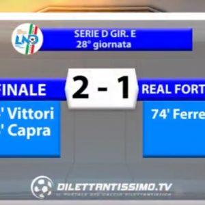 [Serie D] Finale 2 Real Forte Querceta 1 sintesi video by Dilettantissimo.tv