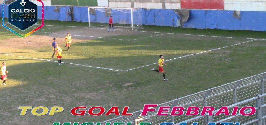 Juniores Albenga, Michele Galati ha realizzato il goal più bello del mese di Febbraio