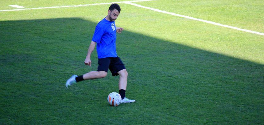 """Imperia, Giuseppe Giglio realizza il primo goal contro il Magra Azzurri: """"Dedico il goal alla mia famiglia e a tutta la squadra"""""""